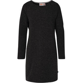 Varg Fårö Long Wool Dress Women Dark Anthracite